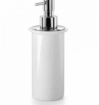dispenser 200 ml duemila lineabeta porcellana bianco