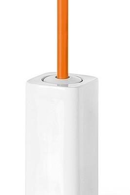 porta scopino baston lineabeta paperella arancione
