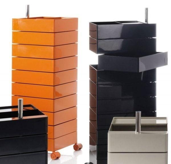 cassettiera 360 container cassetti ruote magis dettaglio