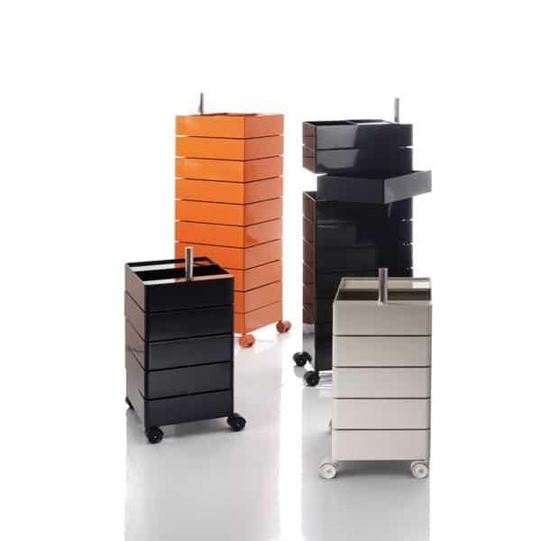 cassettiere 360 containe vari colori