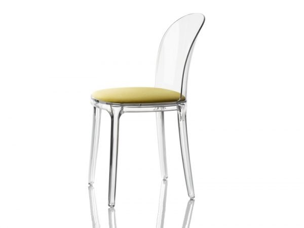 vanity chair magis vari gialla
