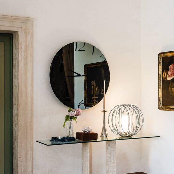 specchio orologio moment cattelan