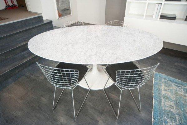 Tavolo Saarinen Ovale