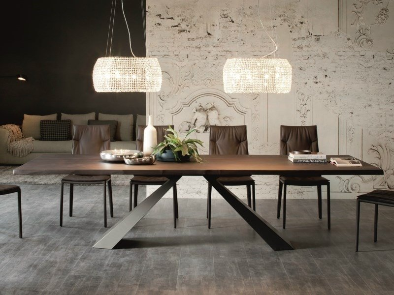 tavolo allungabile elliot wood_drive cattelan ambientazione