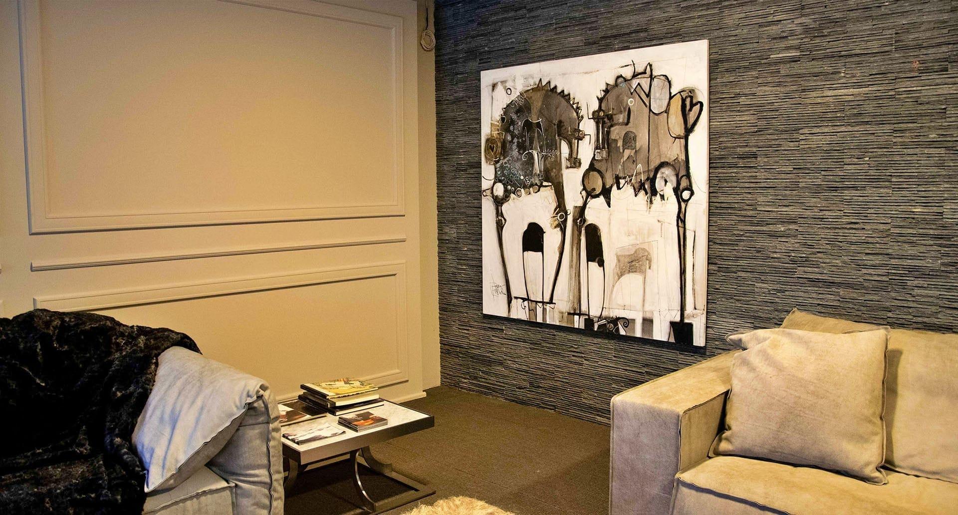 I quadri di Michele Fiocco da Sistema Arreda