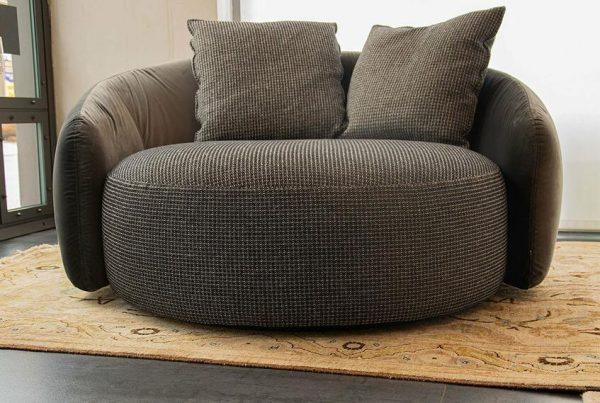 Poltrona girevole Globe Sofa – Flexteam