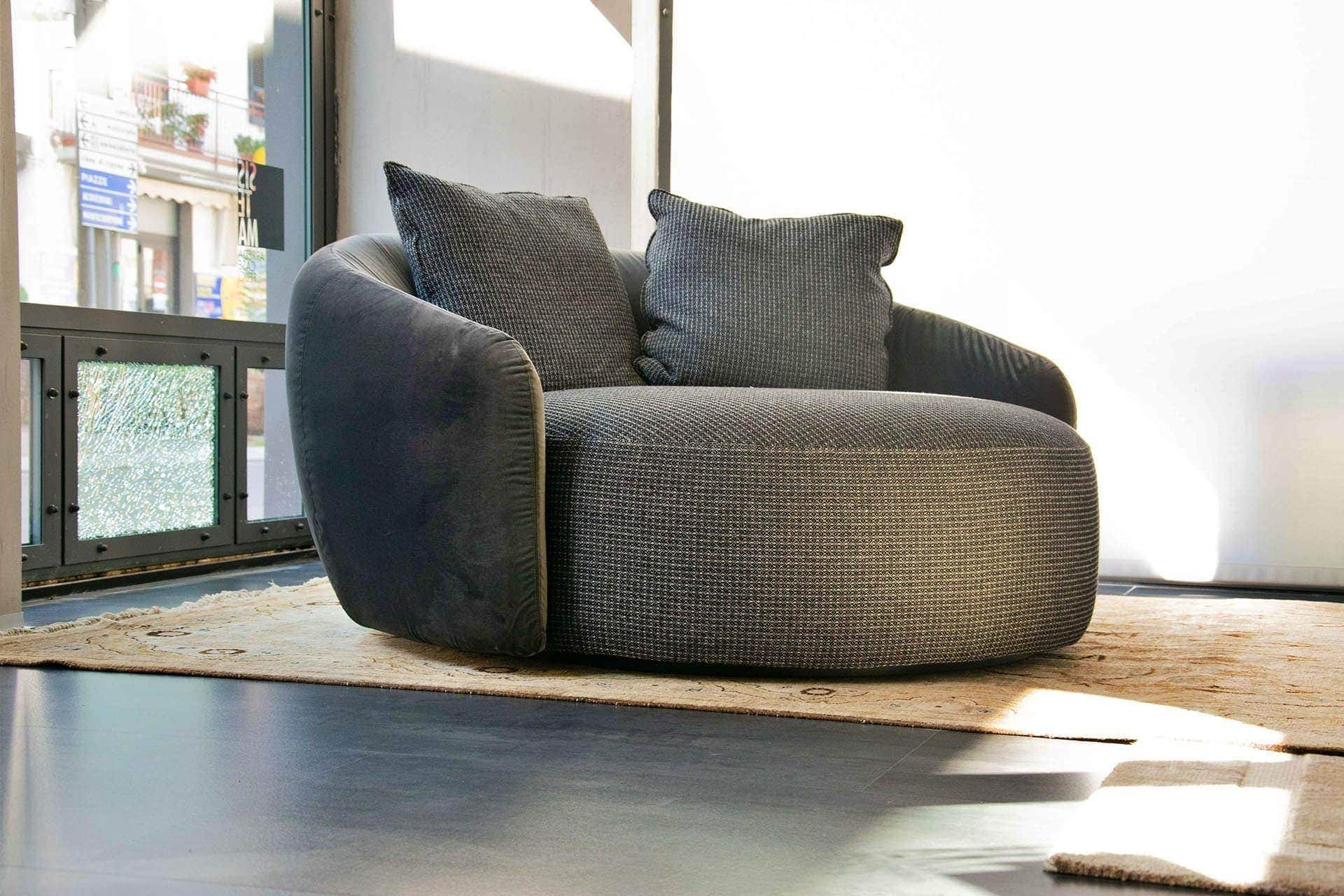Poltrona girevole Globe Sofa Flexteam