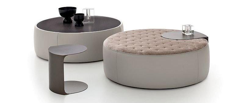 pouf e tavolino Clip Set